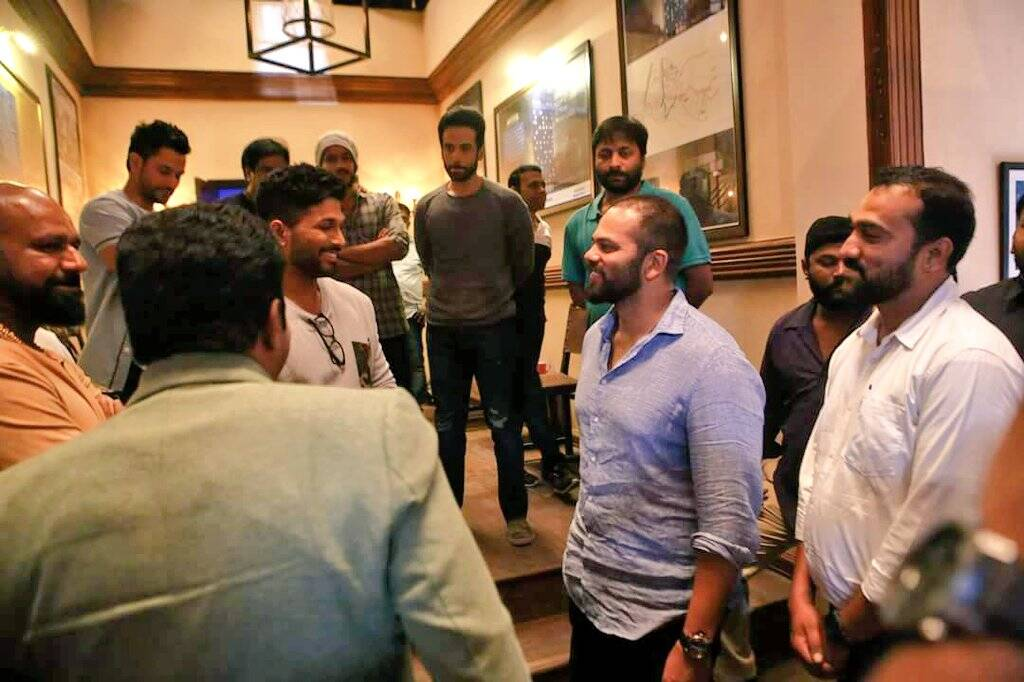 Stylish Star Allu Arjun Undergoes Special Transformation for Naa Peru Surya