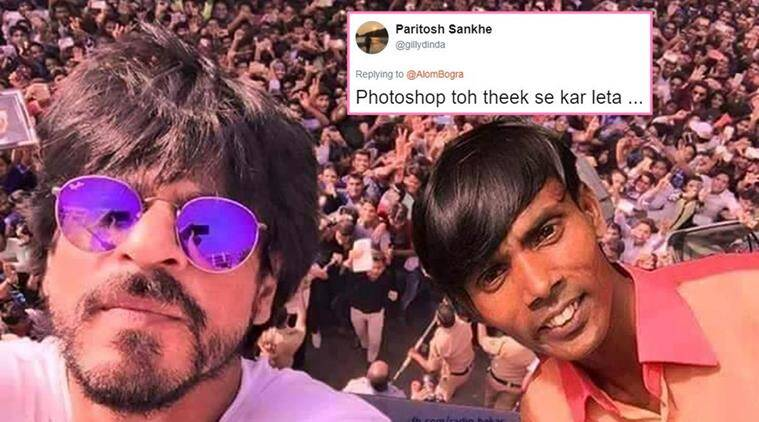 Is Shah Rukh Khan Hero Alom S Biggest Fan Photoshopped