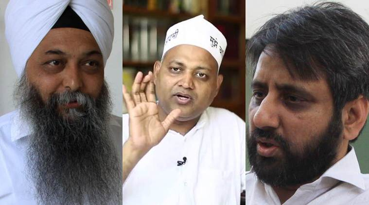 delhi police, aap, amanatullah khan, somnath bharti, jarnail singh, aap mla woman assault, aap woman assault, india news