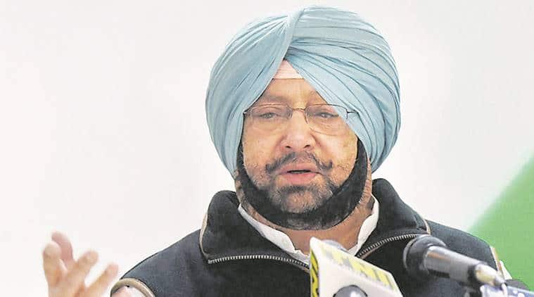 Captain Amarinder Singh, Narendra modi, Amarinder Singh meets PM, Industrial Development in Punjab, Punjab agri crisis, Punjab News, Indian Express News