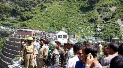 Amarnath Yatra bus accident: 16 killed, several injured; rescue operation in progress