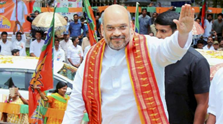 amit shah, haryana, mission 2019, 2019 elections, bjp national president, august, indian express