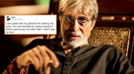amitabh bachchan, amitabh bachchan twitter, amitabh bachchan parents insult tweet, amitabh bachchan twitter parents insult, amitabh bachchan teach lesson youngster insult, indian express, indian express news