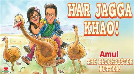 jagga jasoos, amul, ranbir kapoor, anurag basu, katrina kaif, jagga jasoos amul ad, jagga jasoos amul cartoon, jagga jasoos film collection, entertainment news, bollywood, indian express