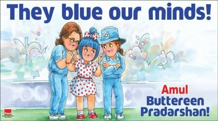 indian women cricket team, icc world cup 2017, indian women team, amul tweet on indian women cricket team, indian express, indian express news