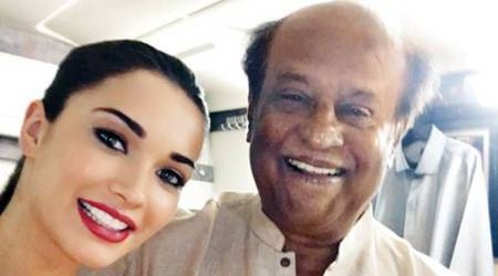 rajinikanth, amy jackson, rajinikanth 2.0, 2point0, rajinikanth amy jackson song