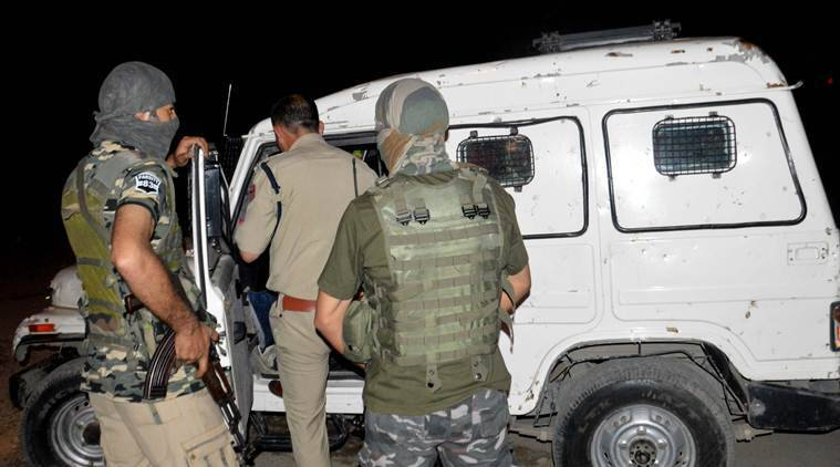 Three terrorists shot dead in south Kashmir