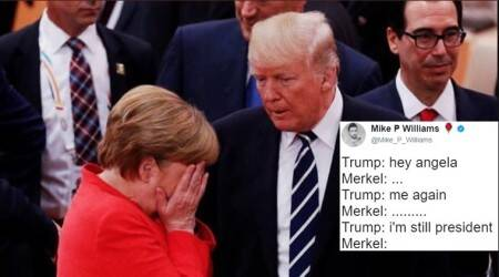 G20 summit: It's raining memes and jokes as Donald Trump and Angela Merkel meet