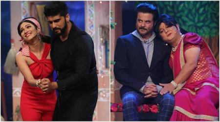 Anil Kapoor and Arjun Kapoor had fun promoting Mubarakan on The Drama Company