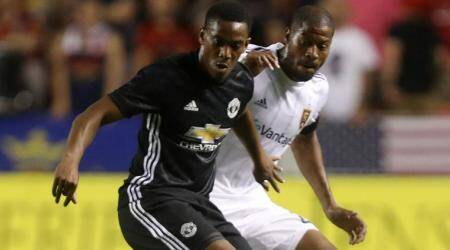 Jose Mourinho, Anthony Martial, Manchester United, Real Madrid, football news, sports news, indian express