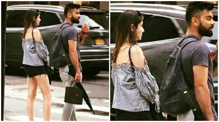 Virat Kohli holidaying with Anushka Sharma, shares picture on Instagram