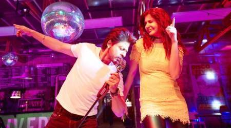 Jab Harry Met Sejal: Shah Rukh Khan and Anushka Sharma go 'pub-crawling' to launch song Beech Beech Mein. Here's what they did entirenight