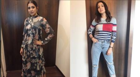 Anushka Sharma's tomboy avatar or floral number — which do you like better?