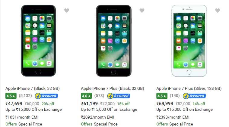 IPhone 7 GST Impact Rollout Price Cut