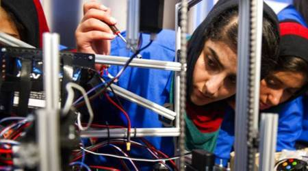 Afghan girls robotics team to compete after visa obstacles