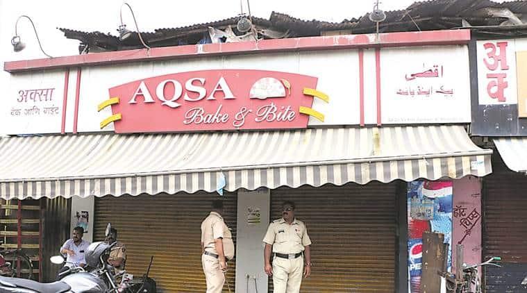 bakery accident, bakery chimney collapse mumbai, aqsa bakery joheshwari west, indian express