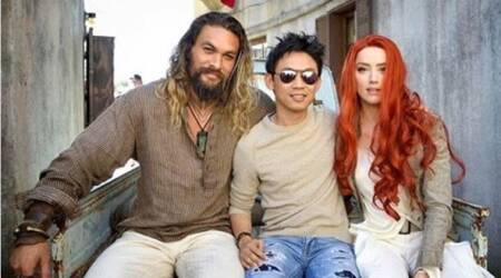 Aquaman actor Amber Heard posts never-before-seen picture from the set of the film starring Jason Momoa. See photo