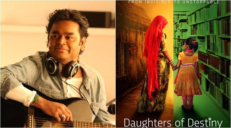 ar rahman, daughters of destiny, ar rahaman daughters of destiny