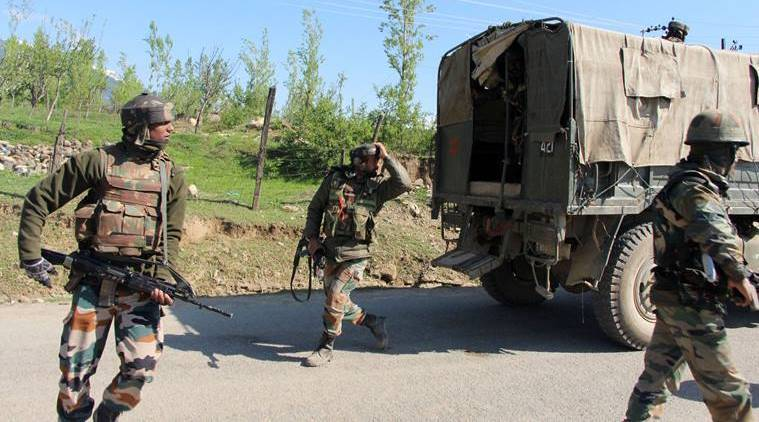 Militants, J&K militants, Militants ransack policeman house, India news, Indian Express