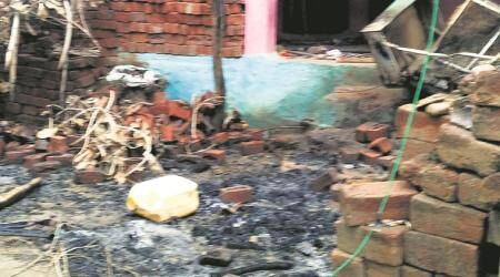 In MP, homes of minority community set ablaze after elopement case