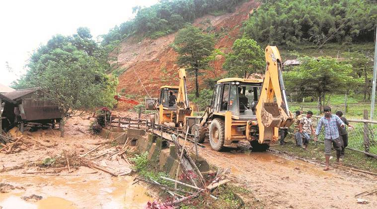 Arunachal landslide: One killed and 13 buried