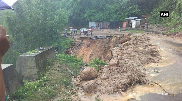 Arunachal Pradesh Congress, Takam Sanjoy, AP, NDA government, Arunachal Pradesh rains, Arunachal Pradesh landslides, Arunachal Pradesh floods, India news, Indian Express news