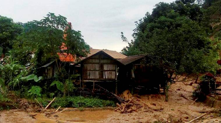 Arunachal pradesh floods, Arunachal floods, flash floods in Arunachal, flood relief fund, heavy rains in Arunachal, india news, indian express