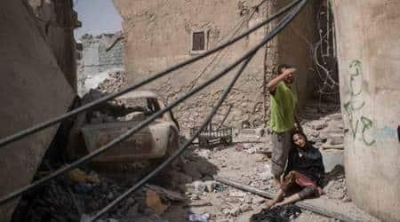 Iraq Attack, Mosul Attack, Mosul IS Attack, IS Attack Mosul, IS Mosul Attack, IS Iraq Attack, World News, Latest World News, Indian Express, Indian Express News