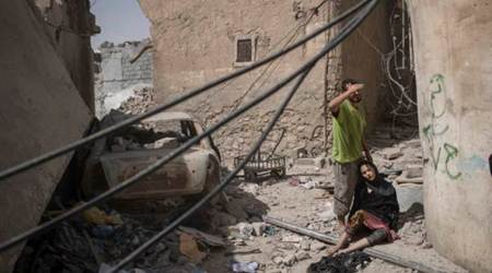 IS women suicide bombers hit back in Mosul; 15 die in Iraq