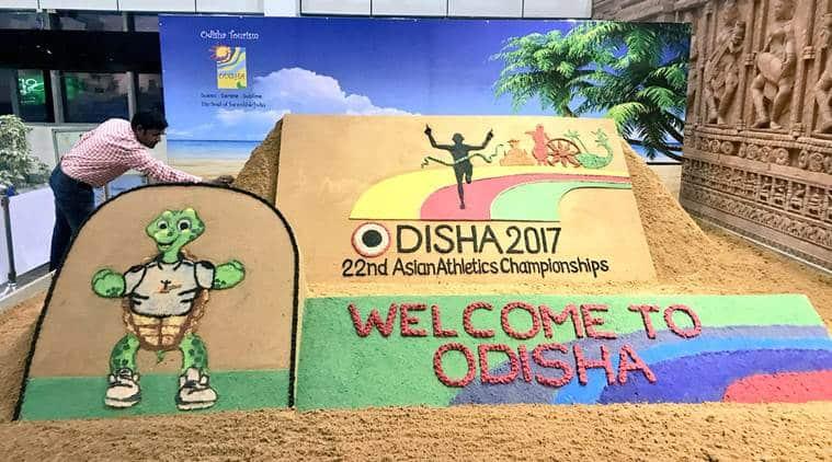 Asian Athletics Championship, aac, bhubaneswar, odisha, athletic meet, kalinga stadium, asian athletics, sports news, indian express