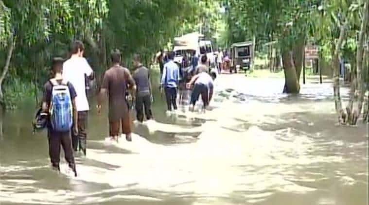 assam flood, assam floods, Sarbananda Sonowal, Assam rains, Kaziranga national park, Assam flooding, Majuli flood