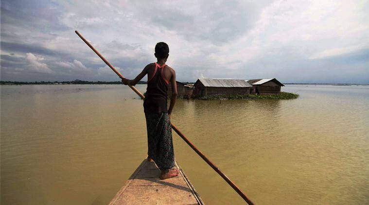 Half of Assam reels under flood, toll touches 27