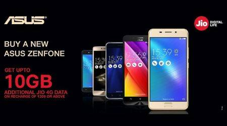 Asus Zenfone buyers to get 100GB extra 4G data on Reliance Jio for recharge of Rs 309