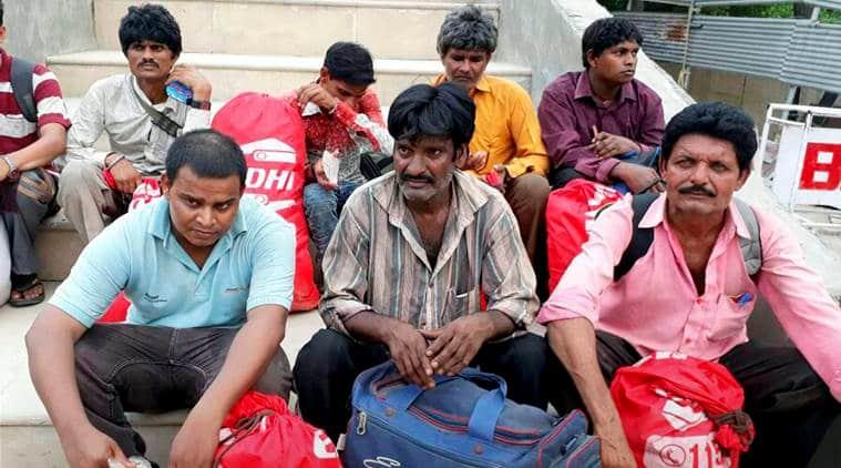 Indian fishermen returned to India, Pakistan, India, Wagah border, Attari, India news, Indian Express news