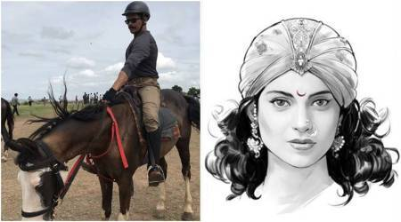 Manikarnika The Queen of Jhansi: Atul Kulkarni doing sword-fighting stunts on his own, without any body double