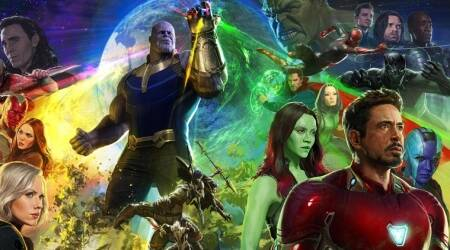 Avengers Infinity War Comic Con trailer leaked and we can finally see Thanos. Watch video