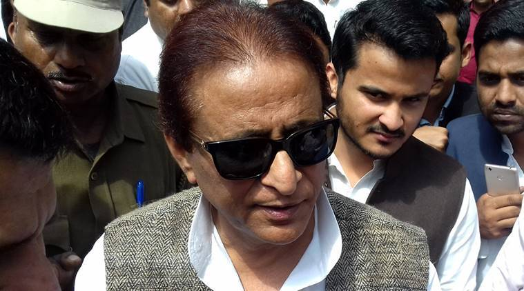 Azam Khan, Sedition, Army