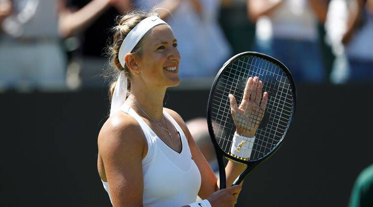 Wimbledon 2017, Victoria Azarenka. Victoria Azarenka WTA tour, Serena Williams, Tennis news, sports news, indian express