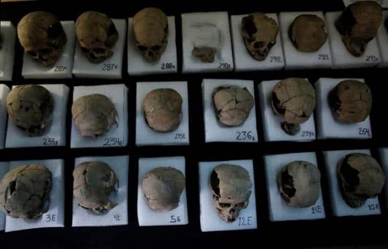 Aztecs Empire, Tower of human skulls, Aztecs Empire, Mexico city, Archaeology, Aztec god, Aztec sacrifice, history, mexico, latest news, world news
