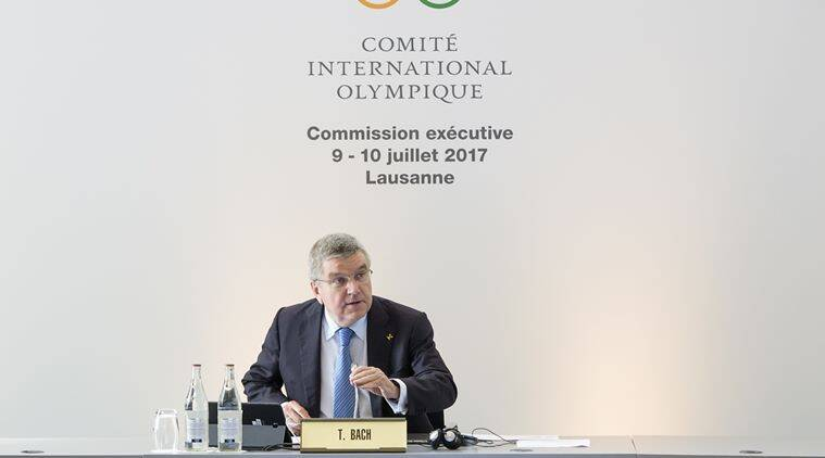 Thomas Bach, IOC, Indian Express