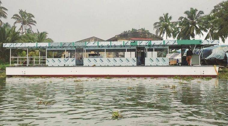 solar power, kerala backwaters, solar powered boat, solar energy, kerala boat solar power, india news, kerala news