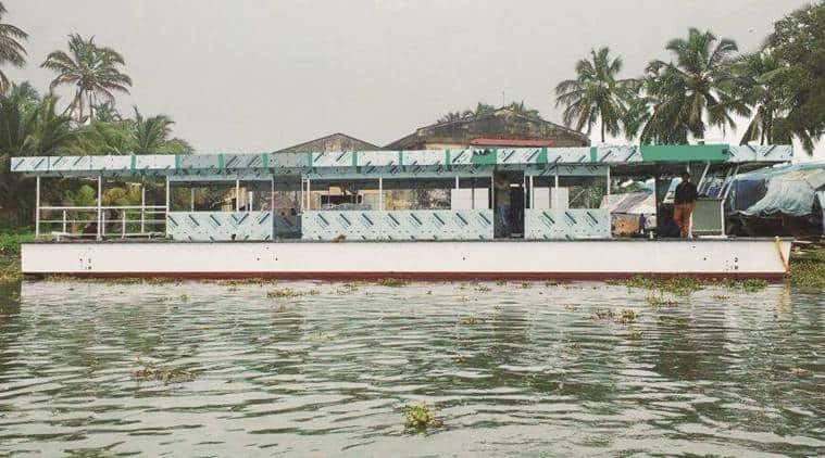 solar power, kerala backwaters, solar powered boat, solar energy, kerala boat solar power, india news, kerala news