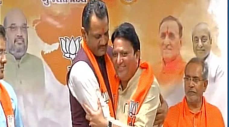 Balwantsinh Rajput, amit shah, smriti irani, Vijay Rupani, BJP, rajya sabha elections, gujarat rajya sabha elections, india news