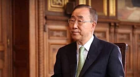 Hope PM Modi leads global fight against climate change: BanKi-moon