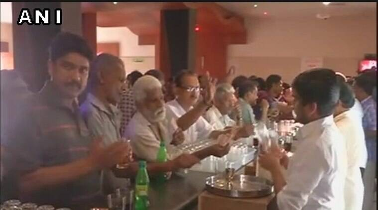 Done with dry days, bars reopen in Kerala after two years