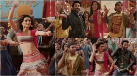 Bareilly Ki Barfi song Sweety Tera Drama: Kriti Sanon, Ayushmann Khurrana, Rajkummar Rao try some 'desi thumkas'. Watch video