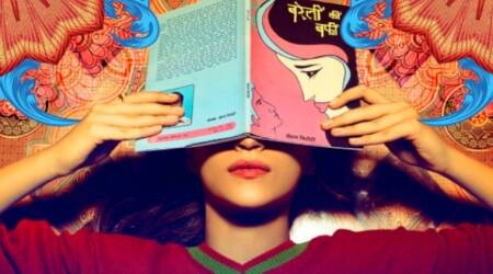 Bareilly Ki Barfi first look poster: Kriti Sanon is reading a book leaving Ayushmann Khurrana and Rajkummar Rao excited. See photo