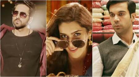 Bareilly Ki Barfi trailer: Ayushmann Khurrana and Rajkummar Rao compete for Kriti Sanon's love. Watch video