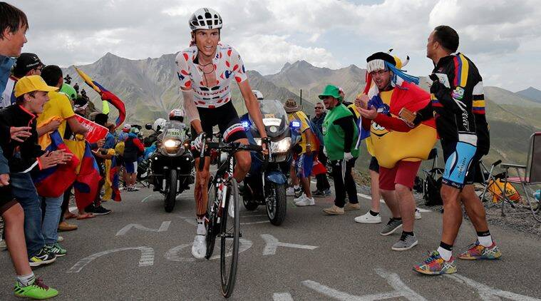 Warren Barguil, Tour de France, Indian Express