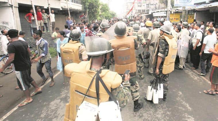 west bengal communal violence, basirhat protests, basirhat violence, baduria protests, curfew, amit shah, baduria clashes, centar